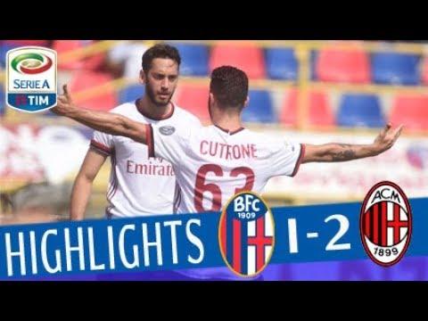 Bologna - Milan 1-2 - Highlights - Giornata 35 - Serie A TIM 2017/18