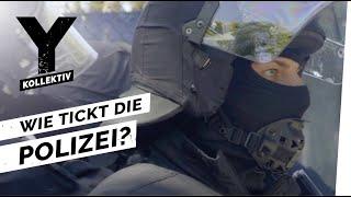 Polizeieinsatz im Fußball - Unterwegs mit der Bereitschaftspolizei