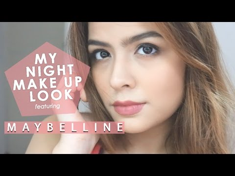 My Night Makeup Look! | ft. Maybelline