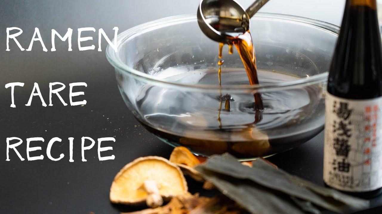 Download How to make Ramen sauce(Tare)