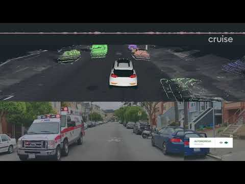 Watch Cruise Self-Driving Car Maneuver Around Emergency Vehicles In San Francisco