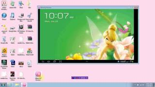 View and Control your Android tablet Screen with your PC