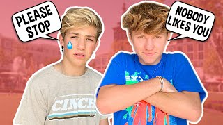 Being MEAN to my BESTFRIEND After His BREAKUP Prank!! **HE CRIED** ft Walker Bryant | Parker Pannell