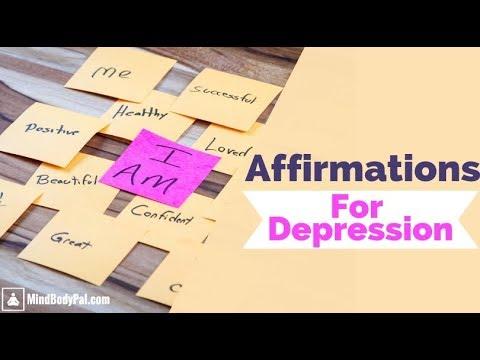 Positive Affirmations For Depression | Self Talk ...