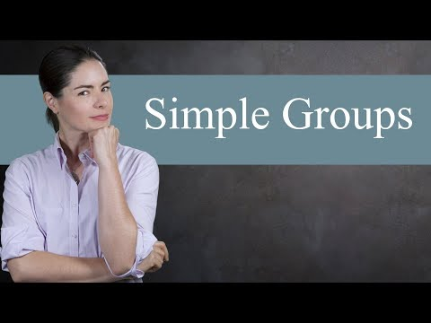 Simple Groups - Abstract Algebra