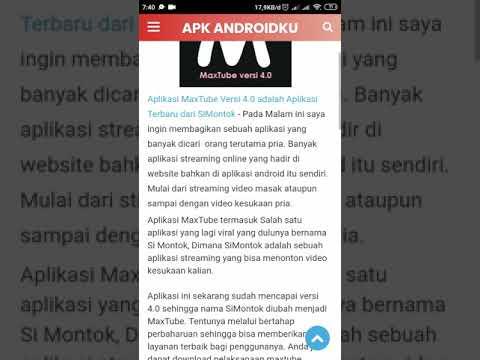 Cara Download Maxtube Versi 4 0 Di Apk Androidku Xyz