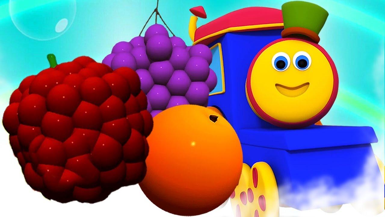 Bob meyve tren | çocuklar için eğitim