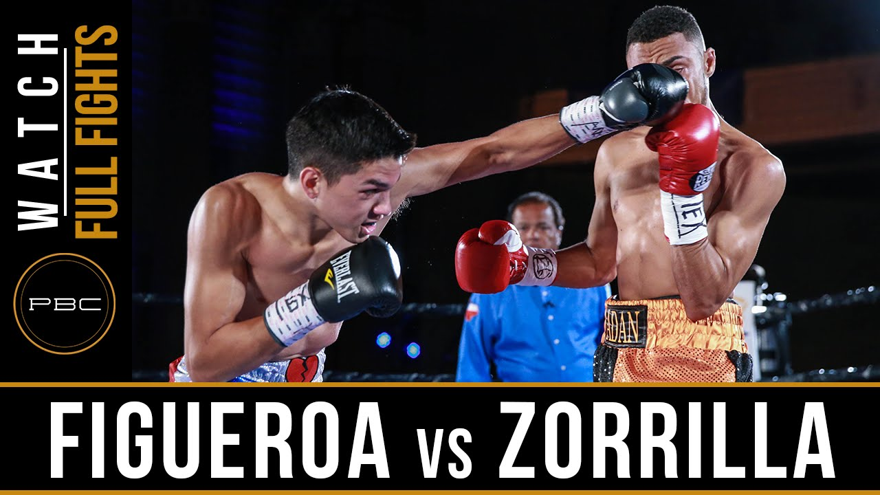 Figueroa vs Zorilla FULL FIGHT: July 23, 2016 - PBC on NBCSN