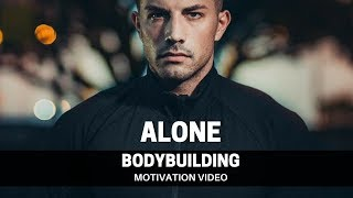 Cover images Bodybuilding Motivation Video - ALONE | 2018
