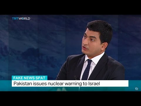 Fake News Spat: Pakistan issues nuclear warning to Israel