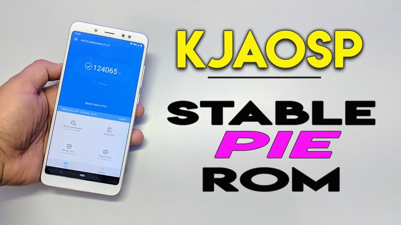 Seguimiento del Sistema Android Pie 9 para el Xiaomi RMN5