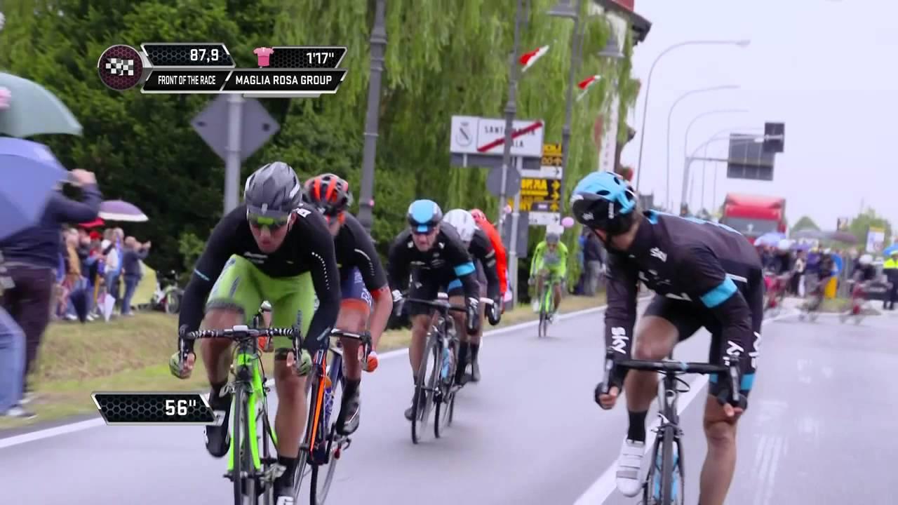 Giro d'Italia 2015: Stage 13 Highlights