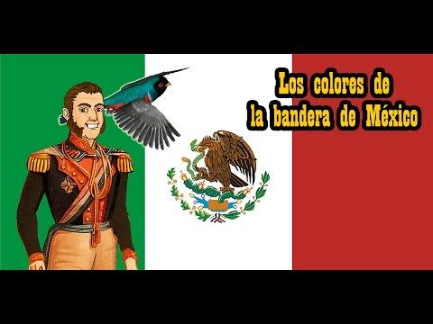Colores para dela de bandera ninos significado de mexico los explicacion