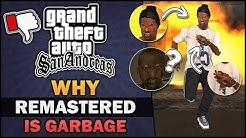 GTA SA - Why Remaster is Garbage? - Feat. BadgerGoodger