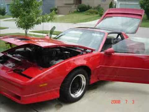 1989 pontiac trans am with flowmaster youtube. Black Bedroom Furniture Sets. Home Design Ideas