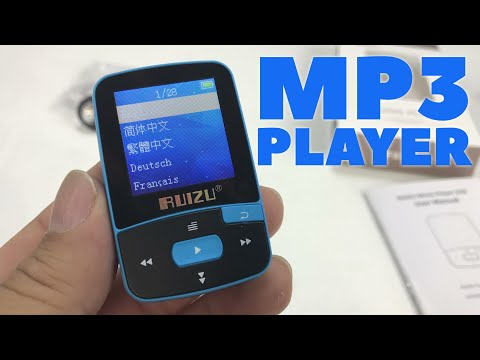 Tiny, Clip-On RUIZU X50 Bluetooth MP3 Music Player Review