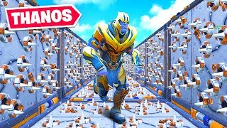 We played a THANOS DEATHRUN in Fortnite!
