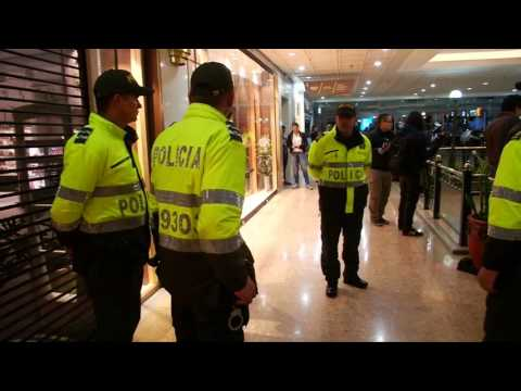 Three Killed In Colombia Shopping Centre Blast