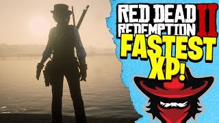 HOW TO GET THE FASTEST XP IN RED DEAD REDEMPTION 2 ONLINE | RDR2 FASTEST XP Tips!