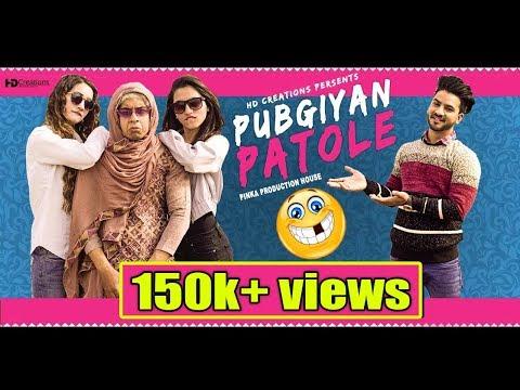PUBGIYAN PATOLE (Guddiyan Patole Spoof Video) | Gurnam Bhullar | Sonam Bajwa | Aman Aujla