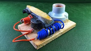 Free Energy Experiment Using Spark Plug With DC Motor Magnet