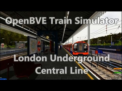 OpenBVE ►1992 Stock | Central Line | Ealing Broadway to Liverpool Street◀