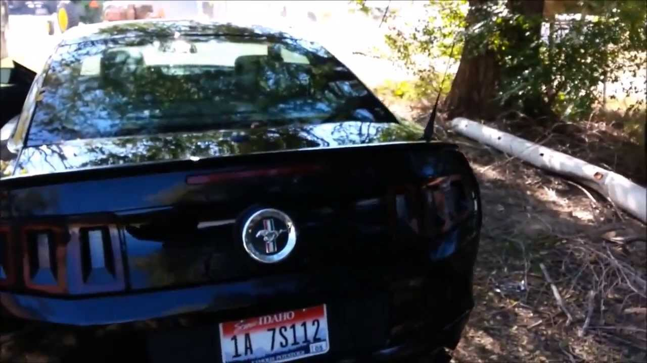 2014 Ford Mustang Quick Review (interior, Exhaust Rev, Key Features....    YouTube