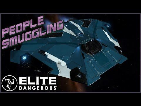 People Smuggling | Elite Dangerous 2.3 Multiplayer (UltraWide)
