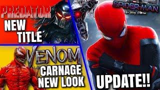 Spider-Man No Way Home Update, Predator Reboot Title, Batfleck In Batgirl & MORE!!