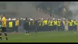aek olympiakos 0 1 goal αεκ μπαχαλα ολυμπιακός γκολ full highlights 11 03 2015