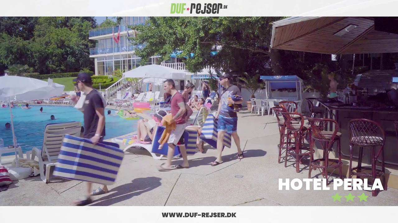 Hotel Perla Golden Sands Youtube
