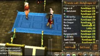 RuneScape - Kalanarraaja Progress Video 8 [132 Combat, 10 Skillcapes, 550m Bank]