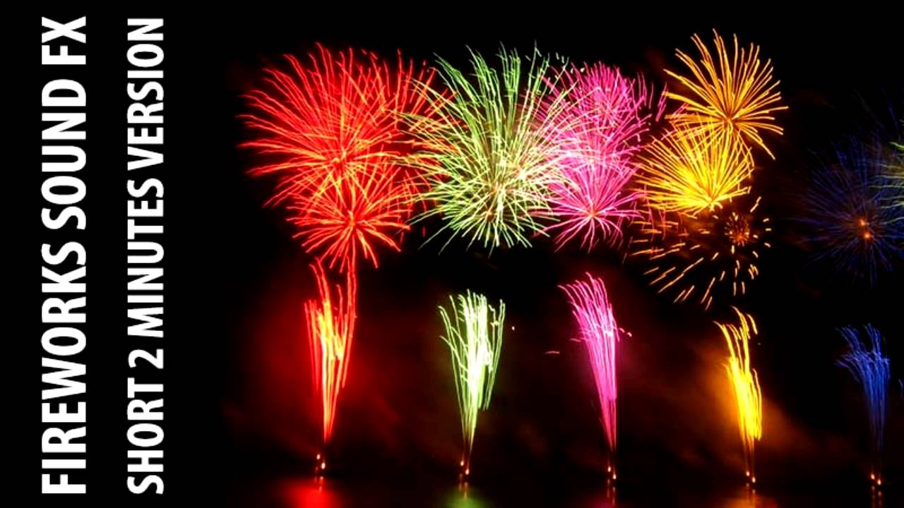 Fireworks sound effects 30 sound pack youtube.