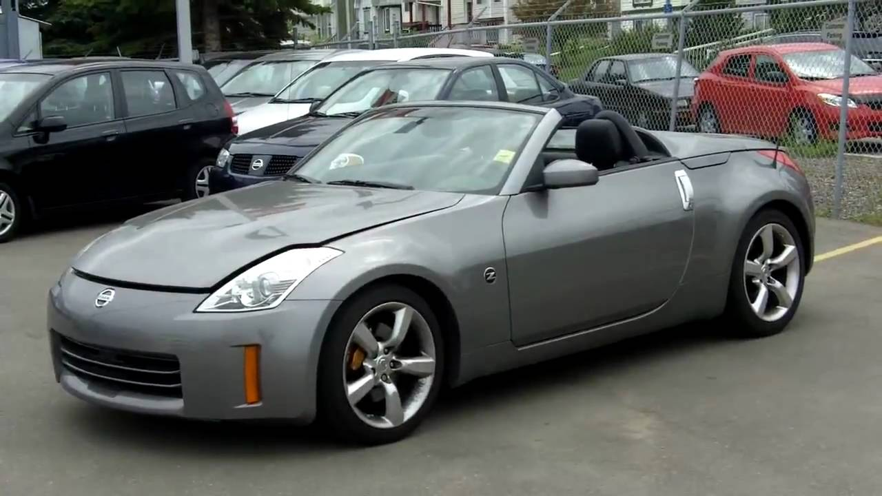 2008 nissan 350z roadster grey fish creek nissan youtube vanachro Choice Image
