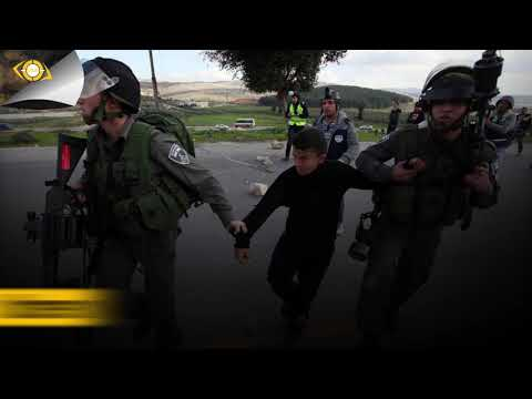 Video graphic violations of the Israeli occupation in the Pa