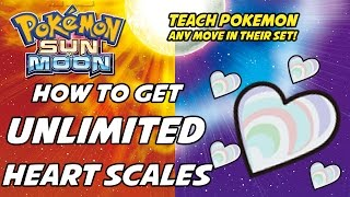 How to Get Unlimited Heart Scales in Pokemon Sun and Moon! [& How to go on a Date with OLIVIA!]