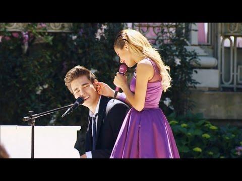 """Violetta 3 - Violetta y León canta """"Nuestro camino"""" en la boda (03x80)"""