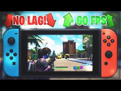 HOW TO BOOST YOUR FORTNITE PERFORMANCE ON YOUR NINTENDO SWITCH! (NO LAG,  60FPS HACK!)