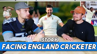 STORY: Facing England Fast Bowlers & Favourite Current Players | Golde