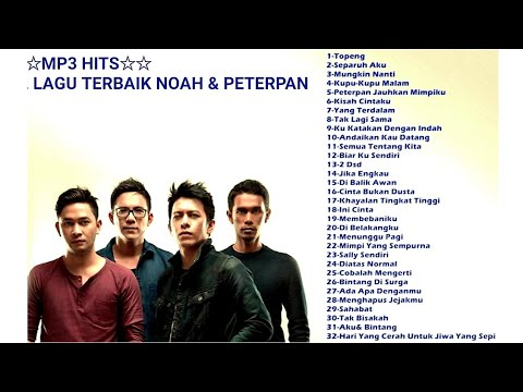 Mp3 Hits - 32 Lagu Terbaik Noah - Peterpan