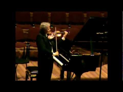 """UTO UGHI """"live"""" - J.S.BACH: CIACCONA (Partita n.2 in re minore BWV 1004)"""