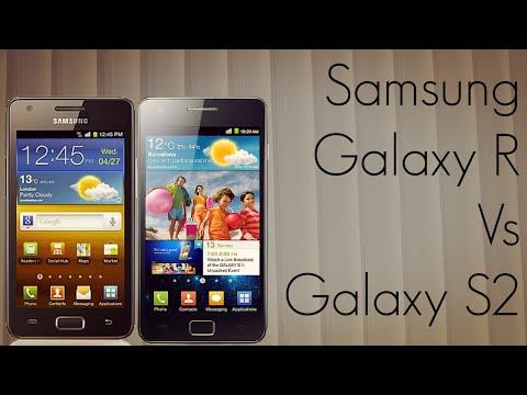 Samsung Galaxy R vs Galaxy S2 Phone Comparison I9103 Vs I9100 - PhoneRadar