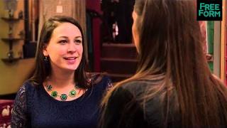Monica The Medium 1x02 Sneak Peek: Monica Gives a Reading at Work  | Freeform