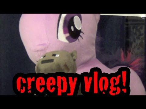 CREEPY VLOG #1 - I NAMED MY BAT!!!