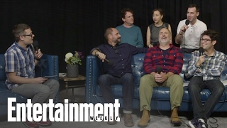 Bob's Burgers: Kristen Schaal, John Roberts & Cast On The Show | PopFest | Entertainment Weekly