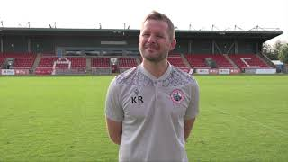 Kevin Rutkiewicz Post-Match Interview Vs Albion Rovers 28/08/21