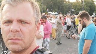 Muți de revoltă. Cazul Alexandra scoate oamenii în strada: Mii de oameni protestează în București