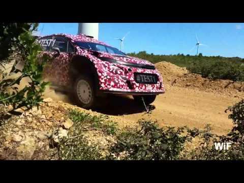 Citroën C3 WRC First Tests