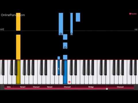 California - The OC theme song - Easy Piano Tutorial