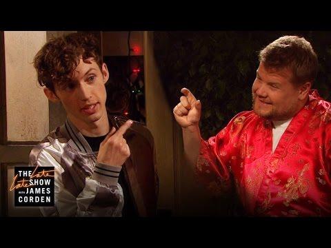 James Corden Crashes Troye Sivan's House Party